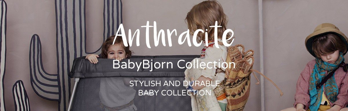 BabyBjorn Anthracite Collection